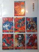 1995 Marvel Overpower - Op Inaugural - Mission Card Set - Maximum Carnage