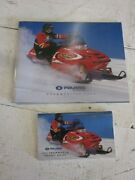 Polaris 2002 50 Page Snowmobile Brochure And 85 Page Brand Comparison Booklet