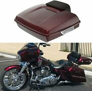 Mysterious Red Sunglo Razor Tour Paks Pack For 14-20 Harley Touring
