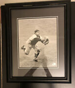 Yogi Berra Yankees Catcher Rare 7.5andrdquox9.5andrdquo Photo Picture With Singedcertified