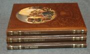 The Old West Time Life Books - The Pioneers The Gunfighters The Miners Lot Of 3