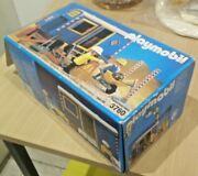 Playmobil 3760 Construction Site Trailer New In Open Box Vintage 1992