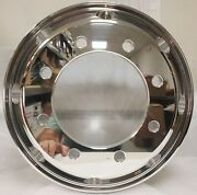 Commercial Truck Trailer 17.5 X 6.75 Forged Aluminum Wheel Polished Hub Pilot