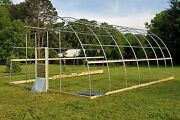 20and039 X 20and039 Greenhouse Hoop Kit Includes End Walls 6 Mil Plastic And Wiggle Wire