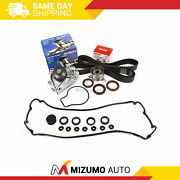 Timing Belt Kit Aisin Water Pump Fit 90-95 Acura 1.8 B18a1 Valve Cover Non-vtec
