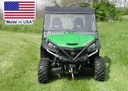 Hard Windshield And Roof For John Deere Gator Rsx/xuv/hpx - Top - Heavy Duty