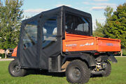 Kubota Rtv 1140 Enclosure For Existing Factory Windshield - Doors, Rear, And Roof