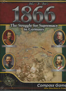1866 The Struggle For Supremacy In Germany Compass Games 1045