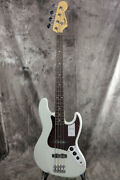 New Fender Made In Japan Heritage 60s Jazz Bass Rosewood Olympic White Guitar