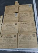 World War 2 Ww2 Ration Stamps Books Ration Card Army 1943