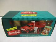 1996 Coca Cola Stake Truck With Vending Machines And Dolly Cart 8/25