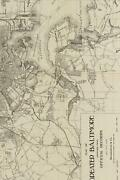 Ca. 1919 Map Of Greater Baltimore, Maryland - A Poetose Notebook / Journal / Dia