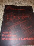 1973 Ford Truck Shop Manual Book Volume 5 Maintenance And Lubrication