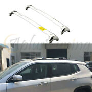 Fits For Jeep Compass 2017-2022 Roof Rail Cross Bars Crossbars Carrier Racks