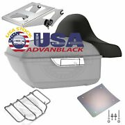 Unpainted King Tour Pak Pack For Harley Street Road Electra Glide 97+