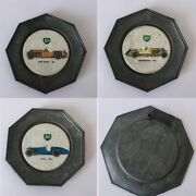 Bp Oil Company Automobile Motor Sport Extremely Rare Collectable Antique Coaster
