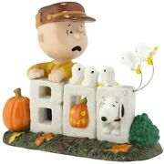 Department 56 Peanuts Charlie Brown Boo To You Statue Halloween 4028552 Retired