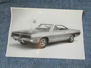 1969 Dodge Charger Hardtop Early Photo Poster 18 64