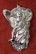 Wallace 2013 13th Edition Grande Baroque Angel Ornament 4.25 In Sterling Silver