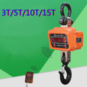 Industrial Digital Hanging Crane Scale Heavy Duty Weighing Scale 3t/5t/10t/15t