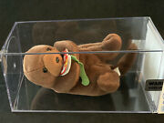 Retired Ty Seaweed The Otter Beanie Baby Rare Tag Errors Authenticated Mwmt Pvc