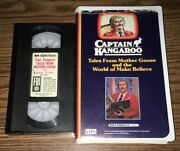 Captain Kangaroo Tales From Mother Goose And World Of Make Believe Vhs Home Video