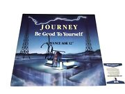Neal Schon Signed Journey Be Good To Yourself 12 Promo Record Beckett Certified