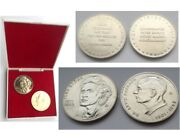 Cold War 2 East German Medal / Coins Stasi State Security Spy / Scout Socialism