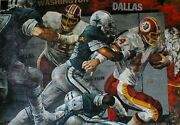 Stephen Holland  The Rivalry  Canvas Make Offer Dds