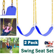 2 Pack Heavy Duty 66 Swing Seat Set Accessories Replacement Chains Outdoor Kids