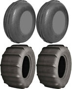 Four 4 Ams Sand King Atv Tires Set 2 Front 30x11-14 And 2 Rear 30x14-14