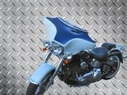 Batwing Fairing Cut W/ Quad 4 Speakers For Harley Davidson Softail Motorcycle