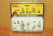 Woodland Scenics People And Pets O Scale Figures