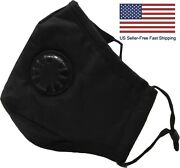 Adjustable Soft Cloth Face Mask With Nose Wire And Filter Pocket, Free To Breathe