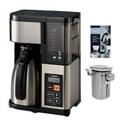 Zojirushi Ec-ytc100xb 10-cup Coffee Maker With Descaling Powder And Canister