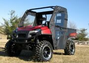 Doors And Rear Window Combo For Polaris Ranger Xp - Puncture Proof - Soft