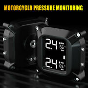 Motorcycle Tpms Tire Pressure Monitoring System With External Sensors Waterproof