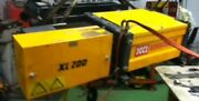 527 2 Ton Wire Rope Hoist W/motorized Trolley 26and039 Lift @ 480v-3 Phase