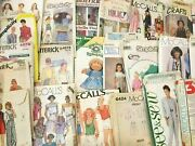 Lot Of 113 Vintage Sewing Patterns Simplicity Mccalls Butterick 50and039s 60and039s 70and039s