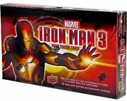 Iron Man 3 Hobby Box Look For 1/1 Sketch And Plate Cards Autos And Memorabilia