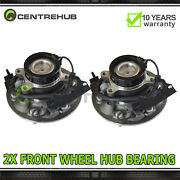 Pair Front Wheel Hubs And Bearing Assembly For Isuzu Chevrolet Gmc 515104 515105
