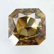 Igi Certified 1.50cts 100natural Fancy Yellowish Brown Color Diamond For Jewel