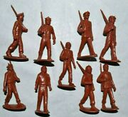 Marx. U.n Army 60mm Unpainted Plastic Figures And Paint Guide