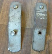 1933 33 Plymouth Pc Accessory Bumper Guards Pair Left Right Hand Side Front Oem