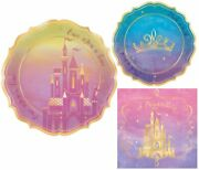Once Upon A Time Disney Princess Themed Party Supplies For For 16 People