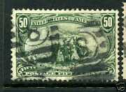 Scott 291 Trans-mississippi Used Stamp With Pf Cert Stock 291-7