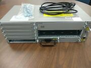 Cisco Asr-903 With 1 A900-pwr550-a Ac Power Supply And 1 A903-fan-e Fan Tray
