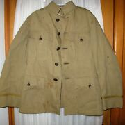 Ww1 Us Army Engineer Officer Summer Jacket Tunic Uniform Essayons Buttons