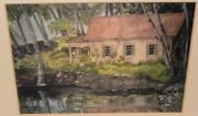 Gay Jensen The King's Cottage At The Keauhou Beach Hotel Hand Signed Print