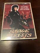 Savage Streets Dvd,2008, 2-disc Set,special Edition W/slipcover New Sealed Oop